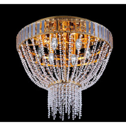 Светильник потолочный Crystal Lux DIAMOND PL 6 ORO