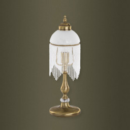 Лампа настольная Kutek Palermo Swarovski PAL-LN-1(P)SW