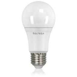 Светодиодная лампа общего назначения Voltega 220V E27 10.5W (соответствует 100 Вт) 1000Lm 4000K (белый) 5738
