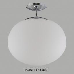 Светильник потолочный Crystal Lux POINT PL3 D400