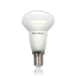 Светодиодная лампа рефлектор (спот) R5O Voltega 220V E14 5.4W (соответствует 60 Вт) 450Lm 4000K (белый) 5756