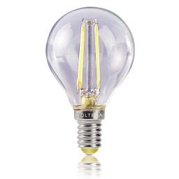 Светодиодная лампа шар Voltega 220V E14 4W (соответствует 40 Вт) 400Lm 2800K (теплый белый) 4677
