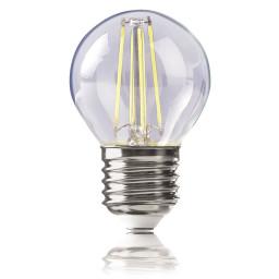 Светодиодная лампа шар Voltega 220V E27 4W (соответствует 40 Вт) 420Lm 4000K (белый) 4678