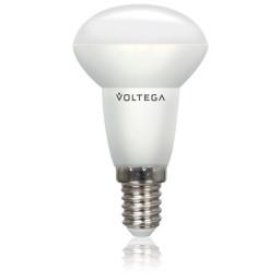 Светодиодная лампа рефлектор (спот) R5O Voltega 220V E14 4.5W (соответствует 40 Вт) 380Lm 4000K (белый) 5758